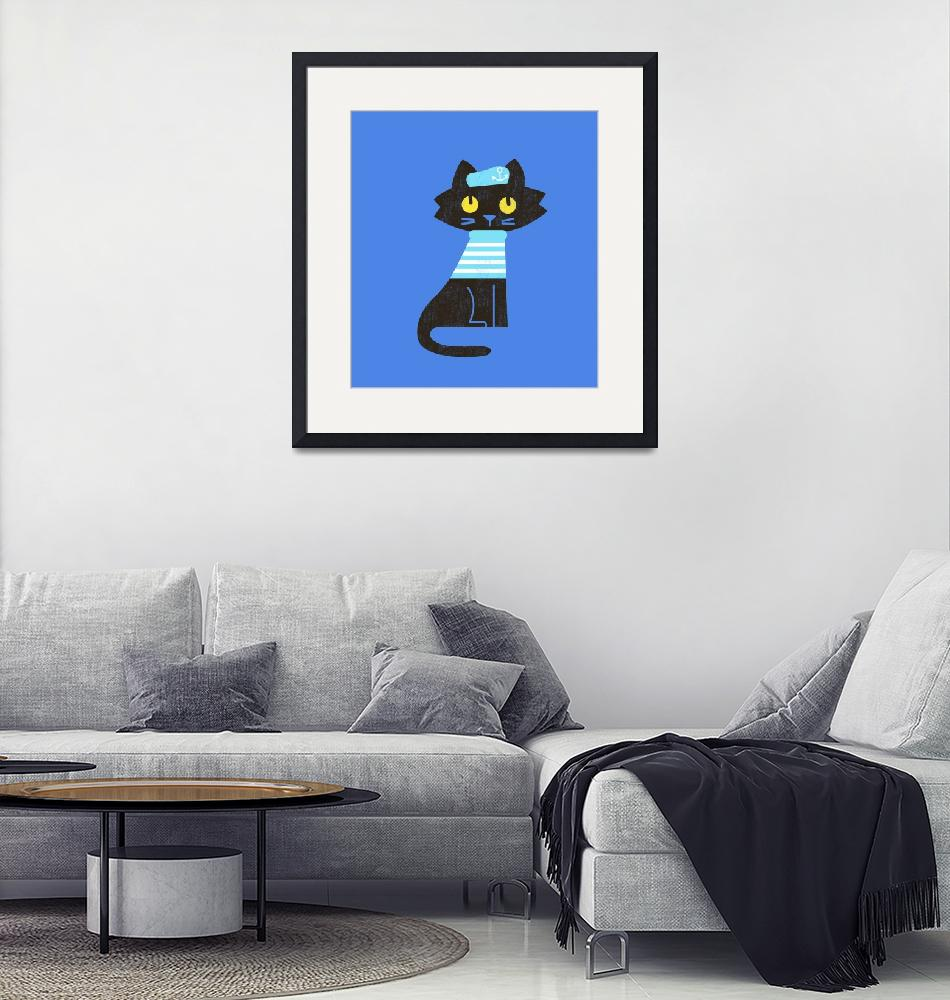 """Sailor Cat"" by artlicensing"