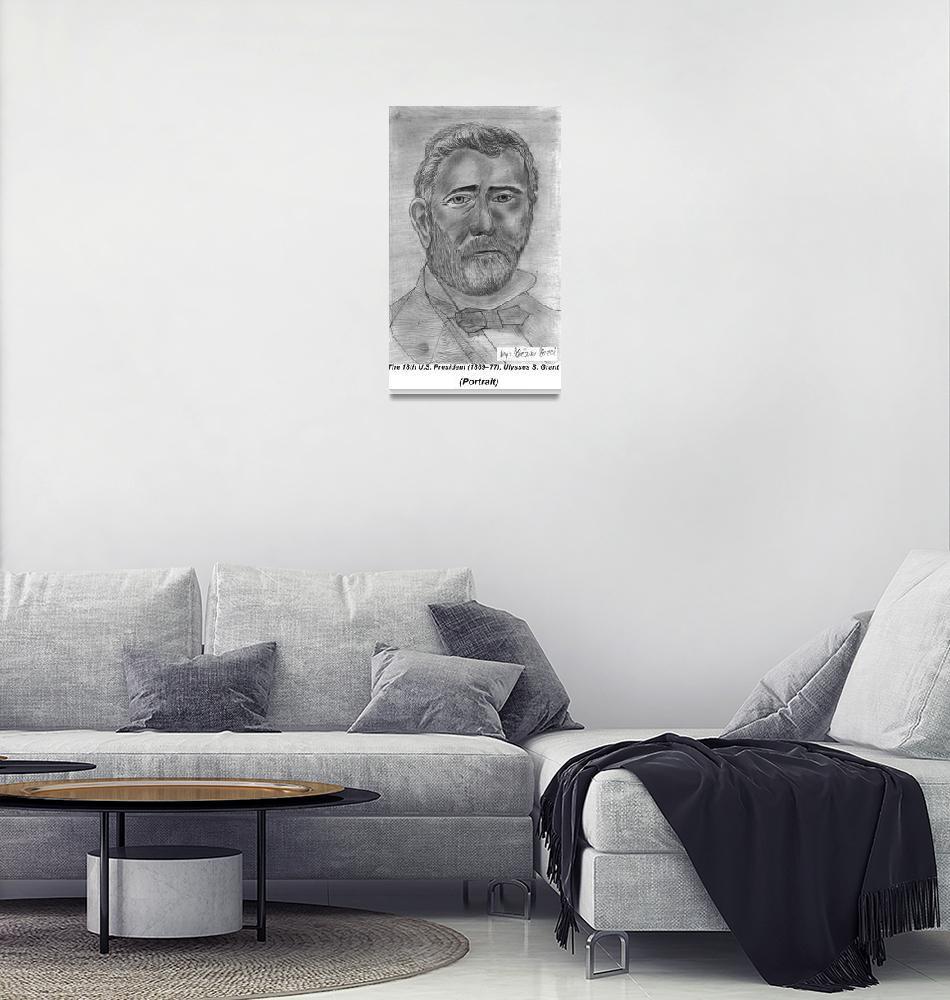 """Ulysses S. Grant""  (2009) by gezimgeci"