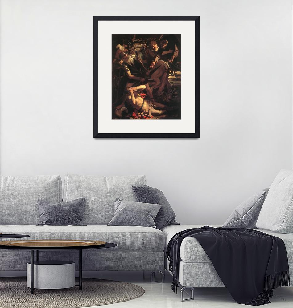 """""""Caravaggio The Conversion Of St Paul""""  by oldies"""
