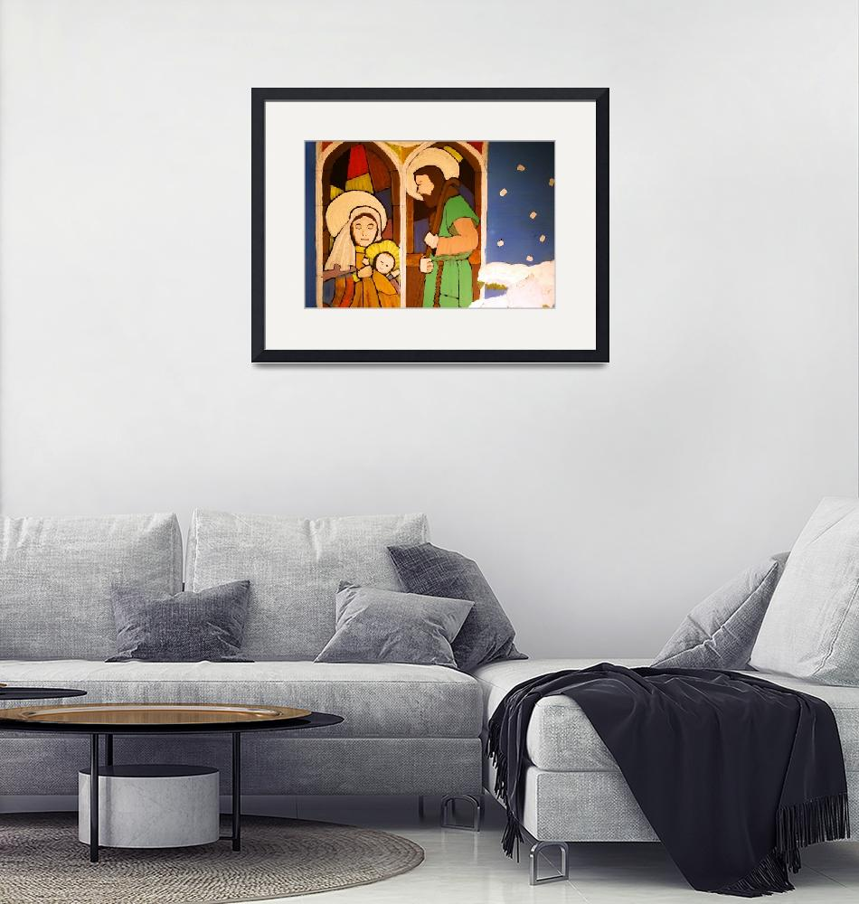 """""""Holy Family by George Wood""""  (1976) by KsWorldArt"""