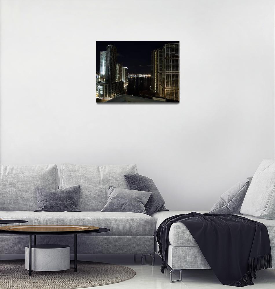 """Downtown Miami""  (2008) by mozartme"