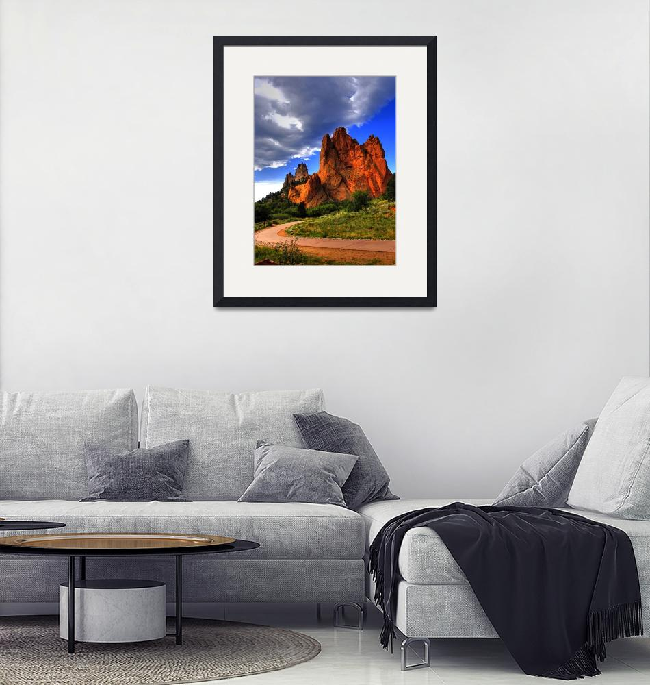 """Garden of the gods""  (2010) by mellow"