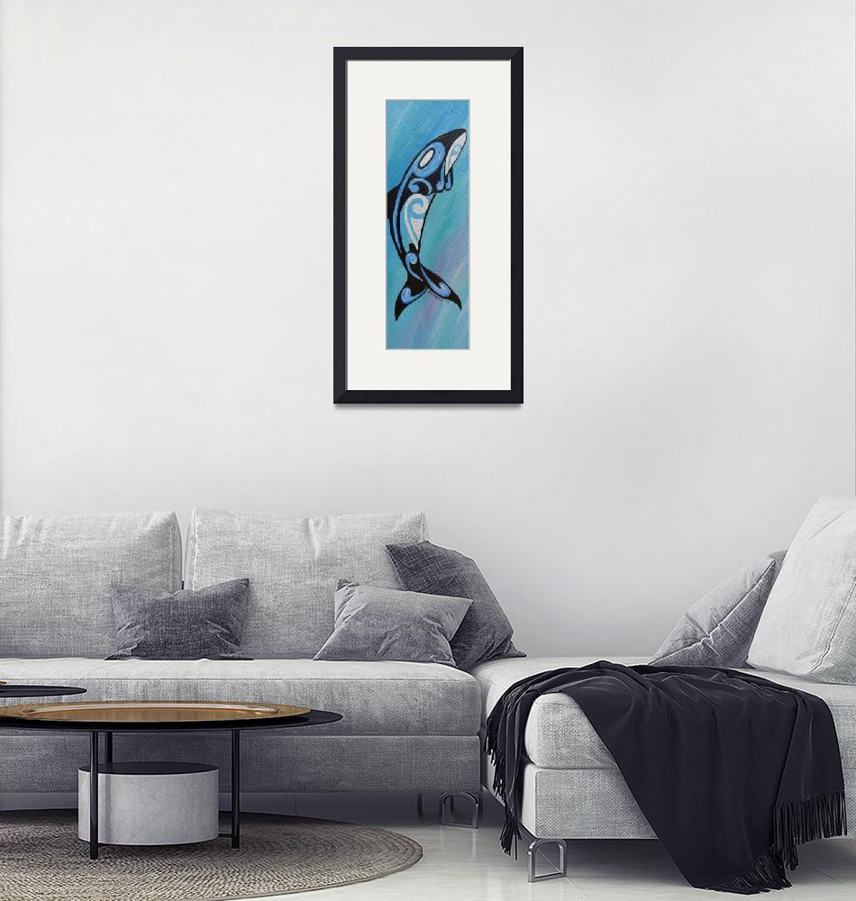 """""""Whale""""  (2012) by Desray"""