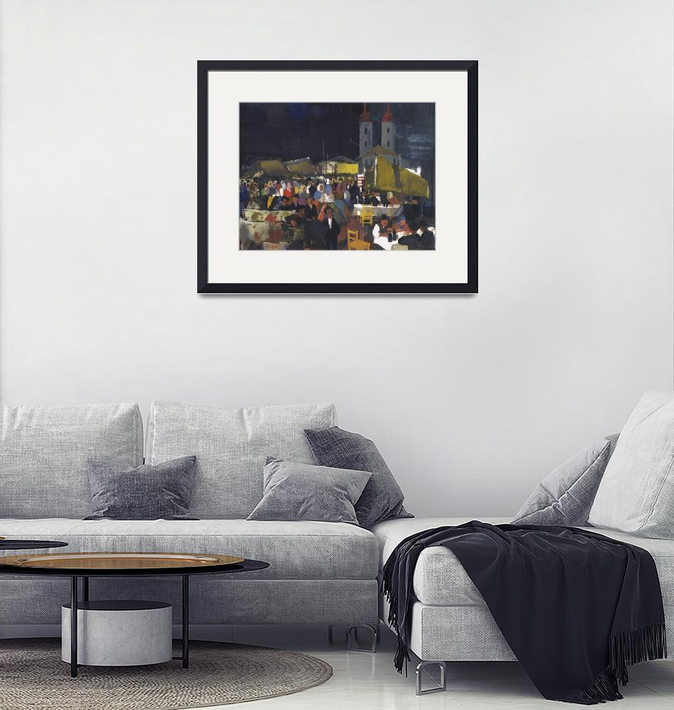 """Vilmos Aba-Novak Art Framed Print""  by buddakats1"