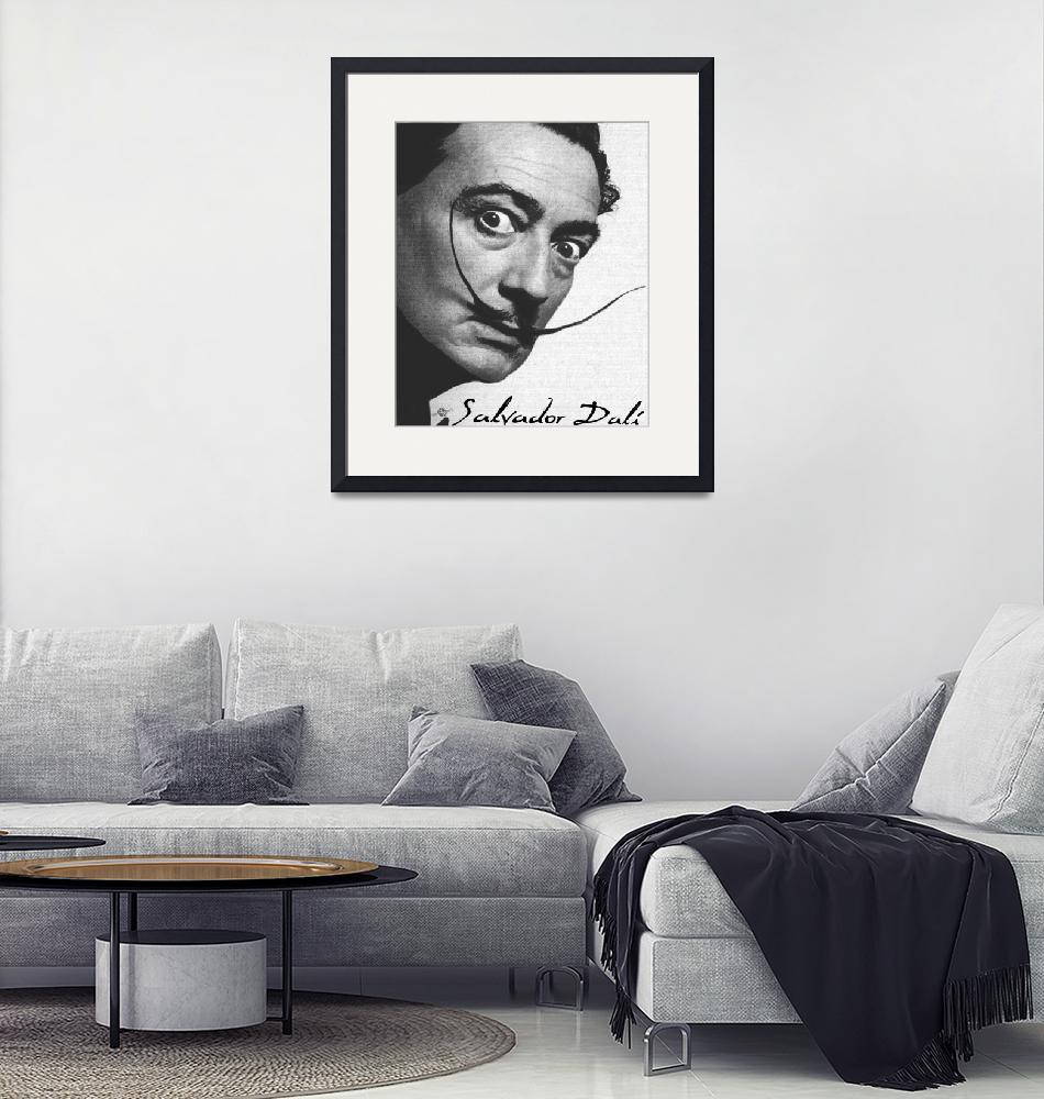 """Salvador Dali Realistic Painting With Signature In""  (2017) by RubinoFineArt"