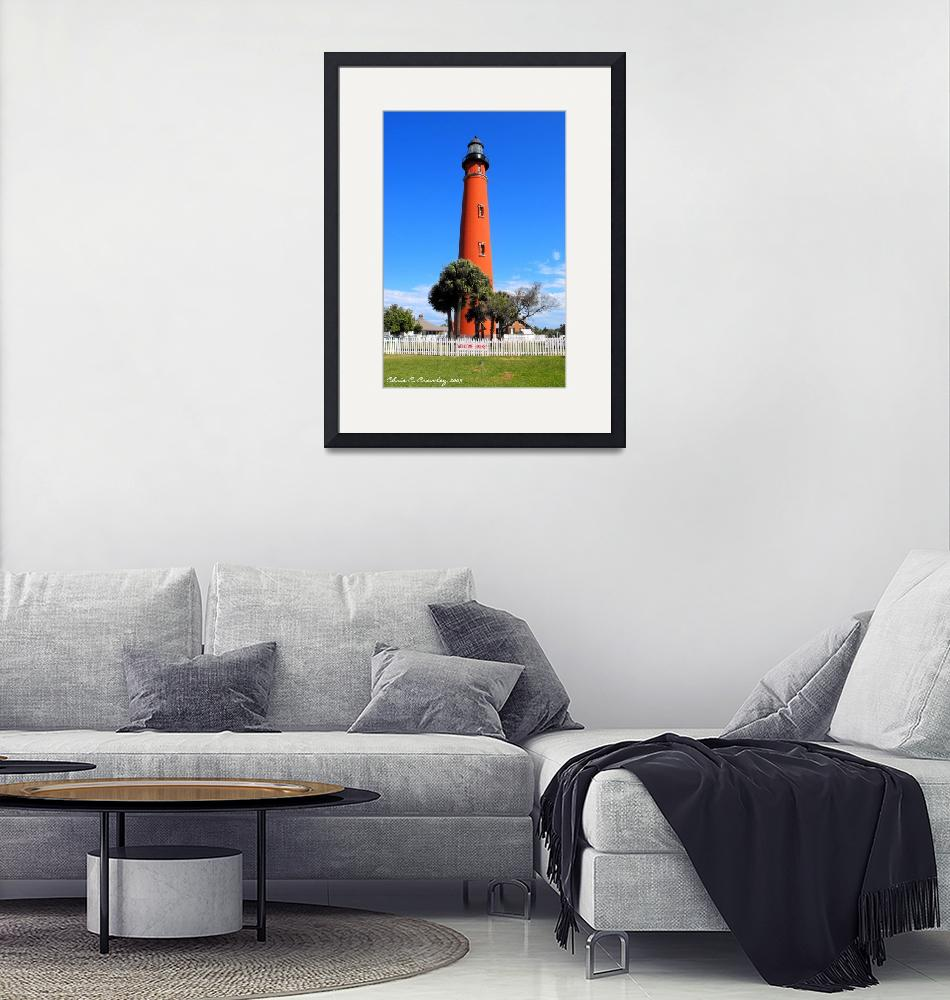 """""""""""The Lighthouse At Ponce Inlet""""""""  (2009) by ChrisCrowley"""