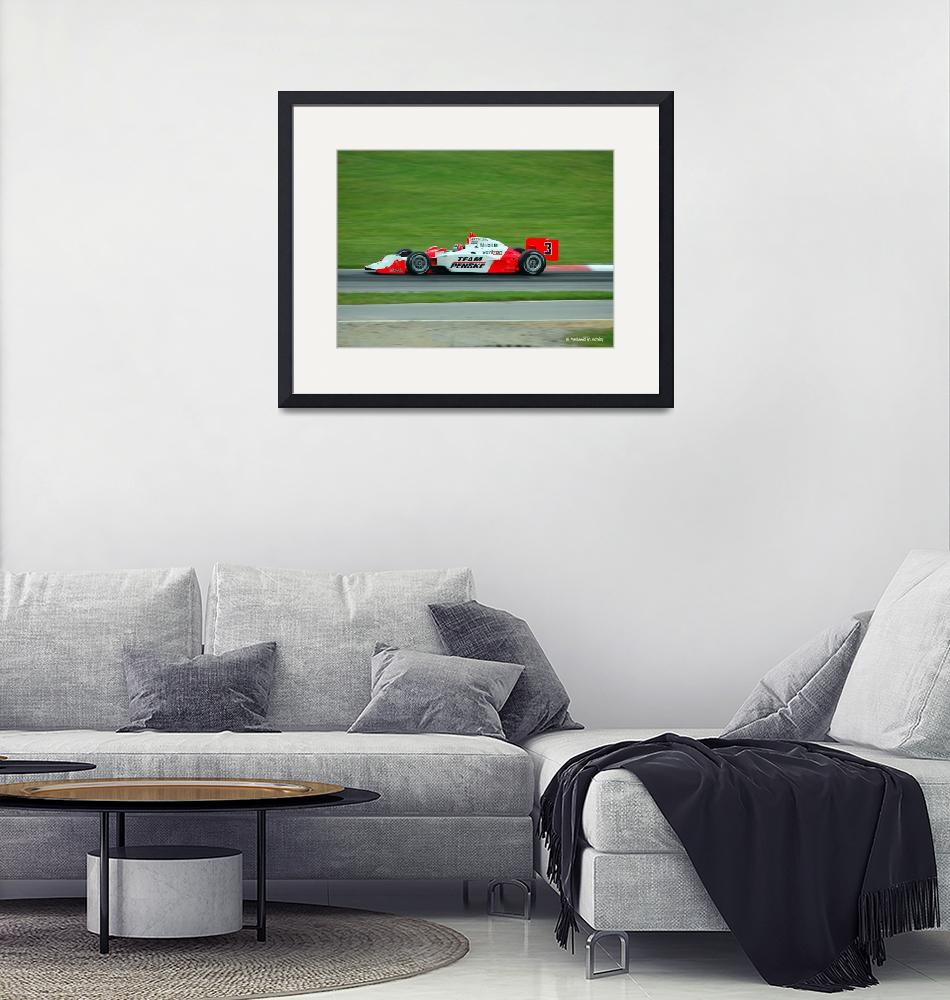 """Helio Castroneves""  by nwritchey"