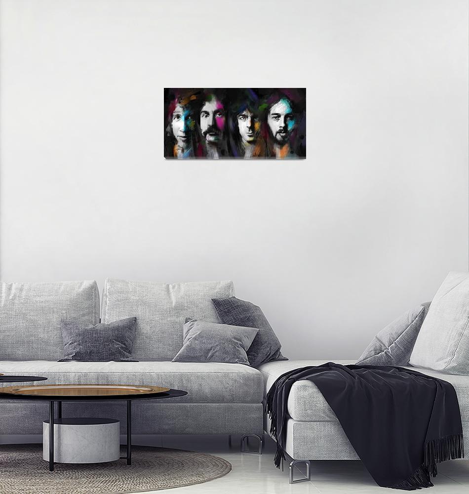 """""""Pink Floyd""""  (2018) by MelanieD"""