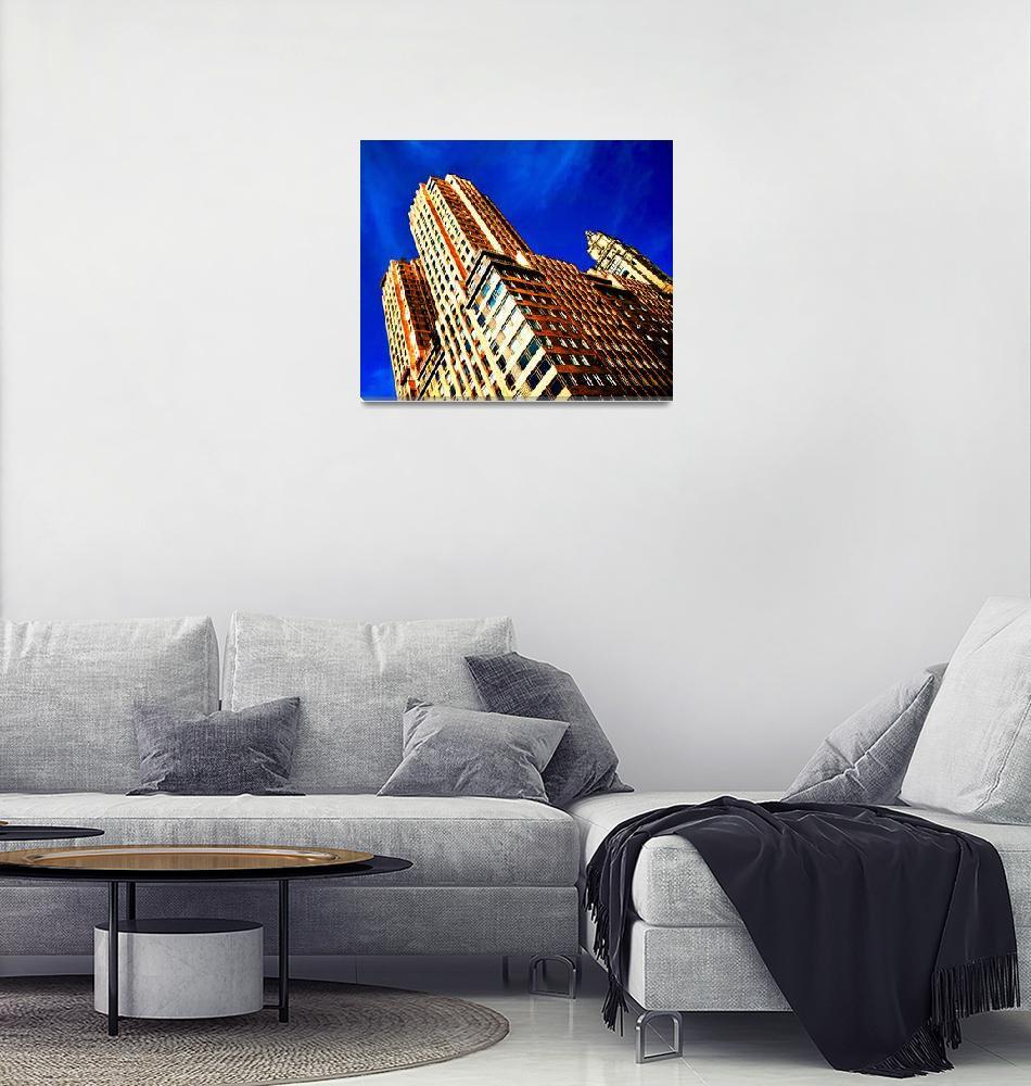 """""""Golden Urban Thrust""""  (2017) by ElainePlesser"""