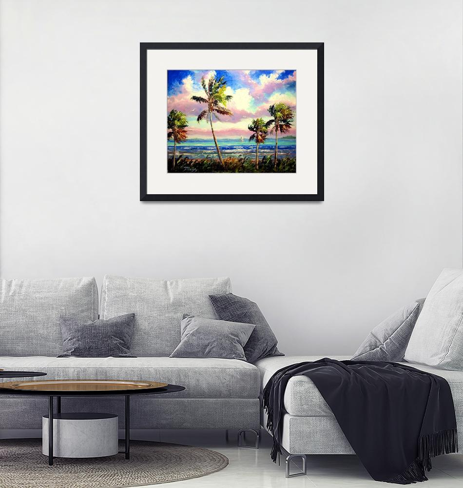 """""""Vibrant Tropical Wind""""  (2009) by mazz"""