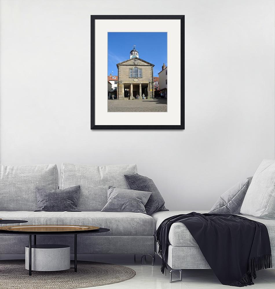 """""""Whitby Old Town Hall (15572-RDA)""""  (2008) by rodjohnson"""