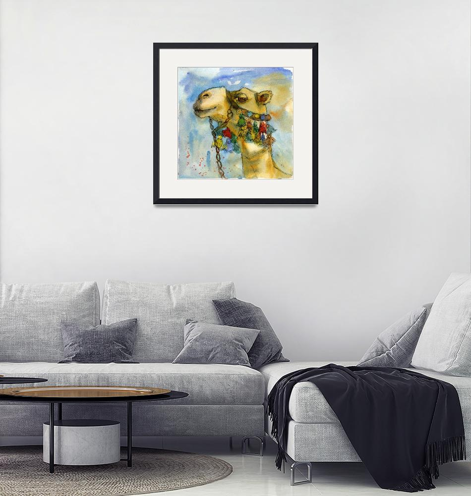 """""""watercolor print 