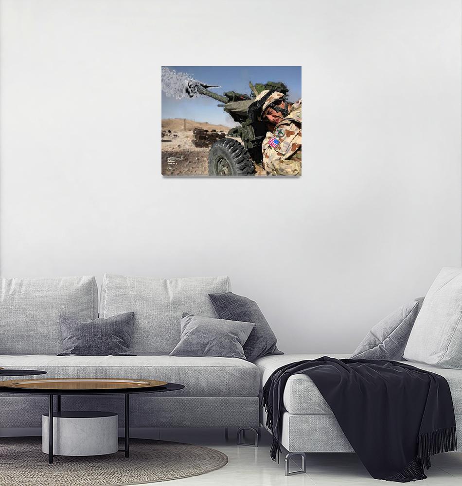 """""""Afgan_firing""""  (2011) by delc2"""