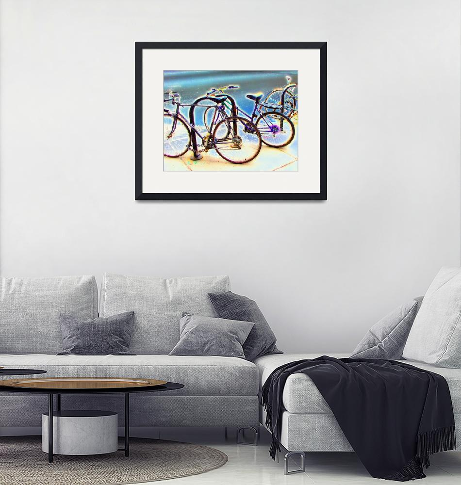 """""""Bikes at Rest""""  (2003) by studiobrian"""