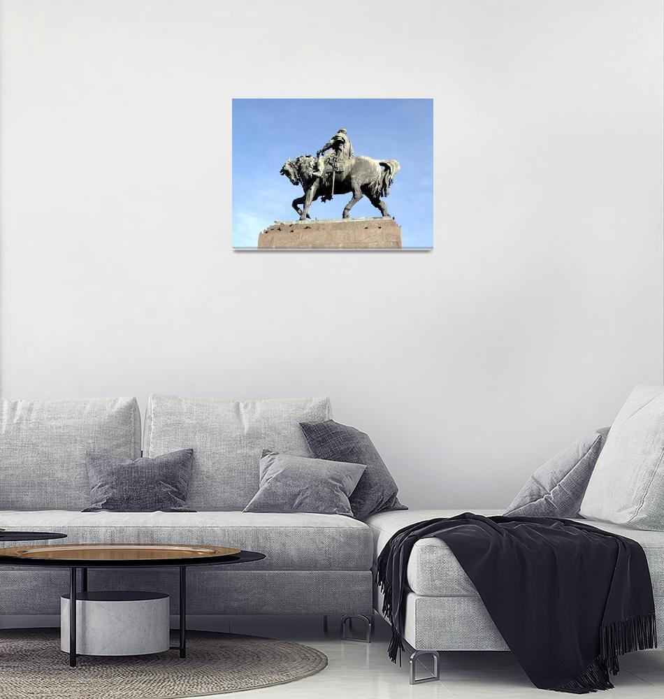 """Artigas Monument""  (2008) by Alvimann"