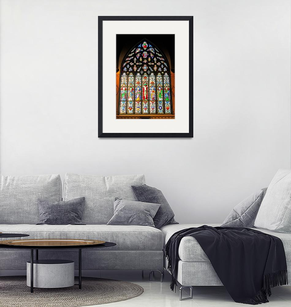 """""""East Stained Glass Window Christ Church Cathedral""""  (2010) by Markomarko"""