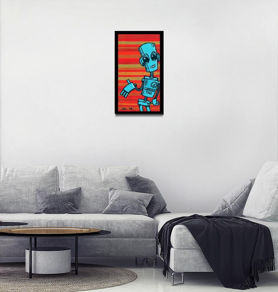 """""""Robot #1""""  (2008) by artdamaged"""