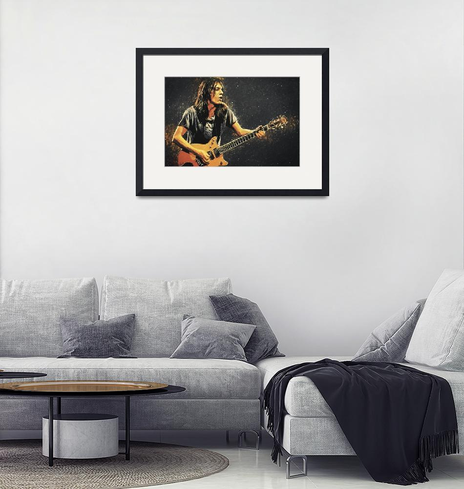 """""""Malcolm Young"""" (2018) by taylansoyturk"""