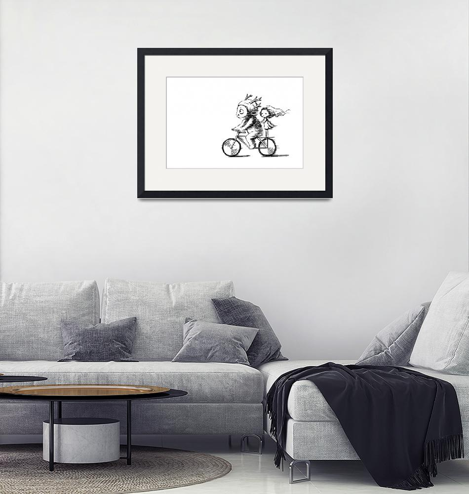 """""""Bicycle Ride""""  (2012) by freeminds"""
