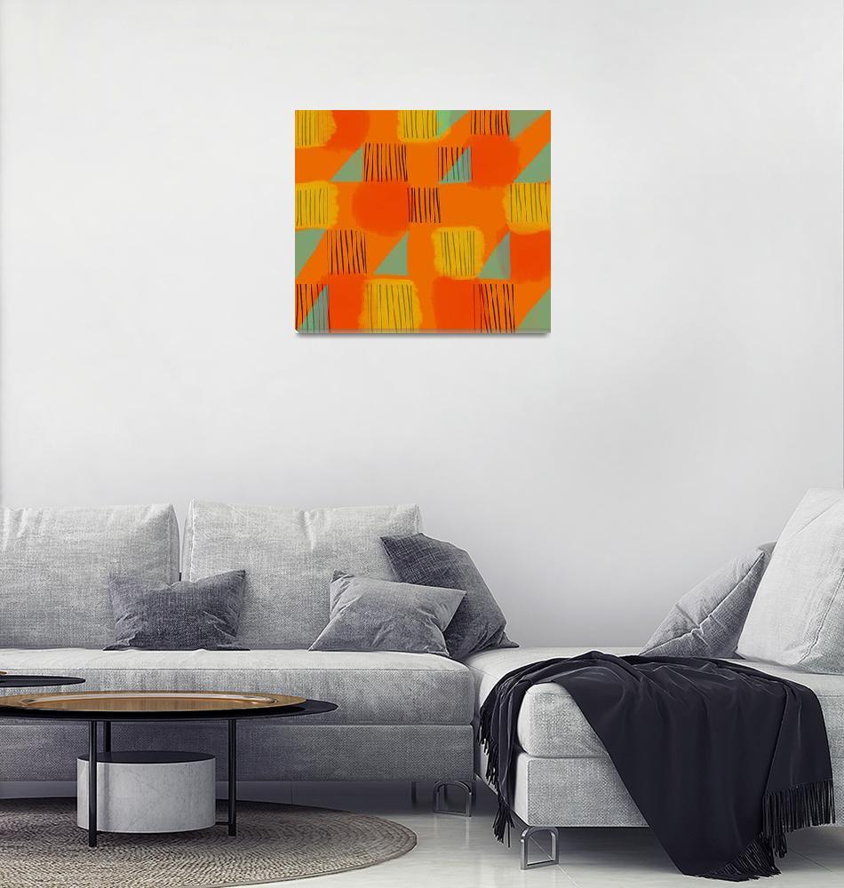 """Abstract: Flags 2""  (2018) by pfleghaar"