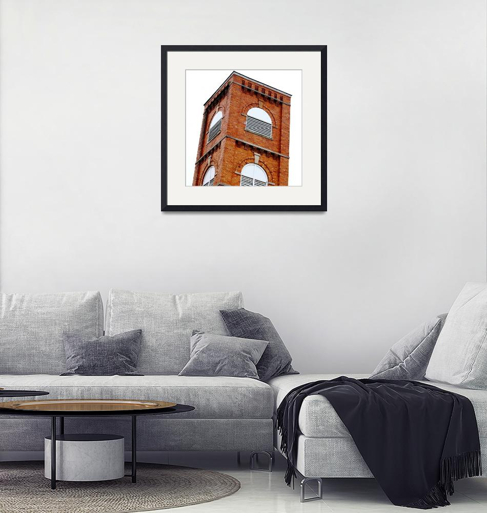 """""""Old Yellow Brick Bell Tower""""  (2010) by fotobits"""