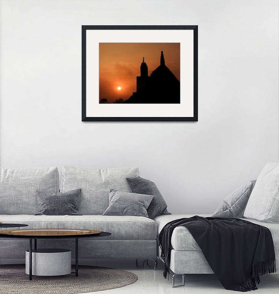 """""""Mosque Silhouette""""  (2018) by makepeace"""