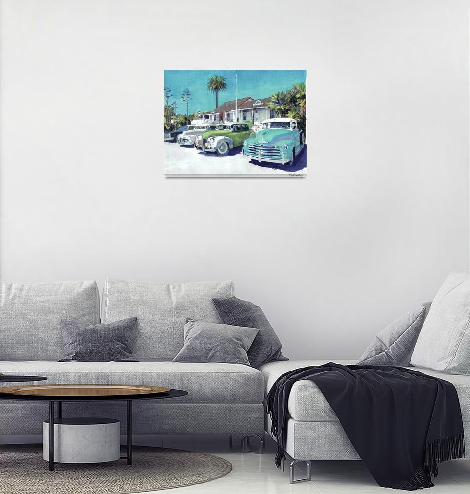 """Romancing Old Town San Diego Avenue""  (2011) by RDRiccoboni"