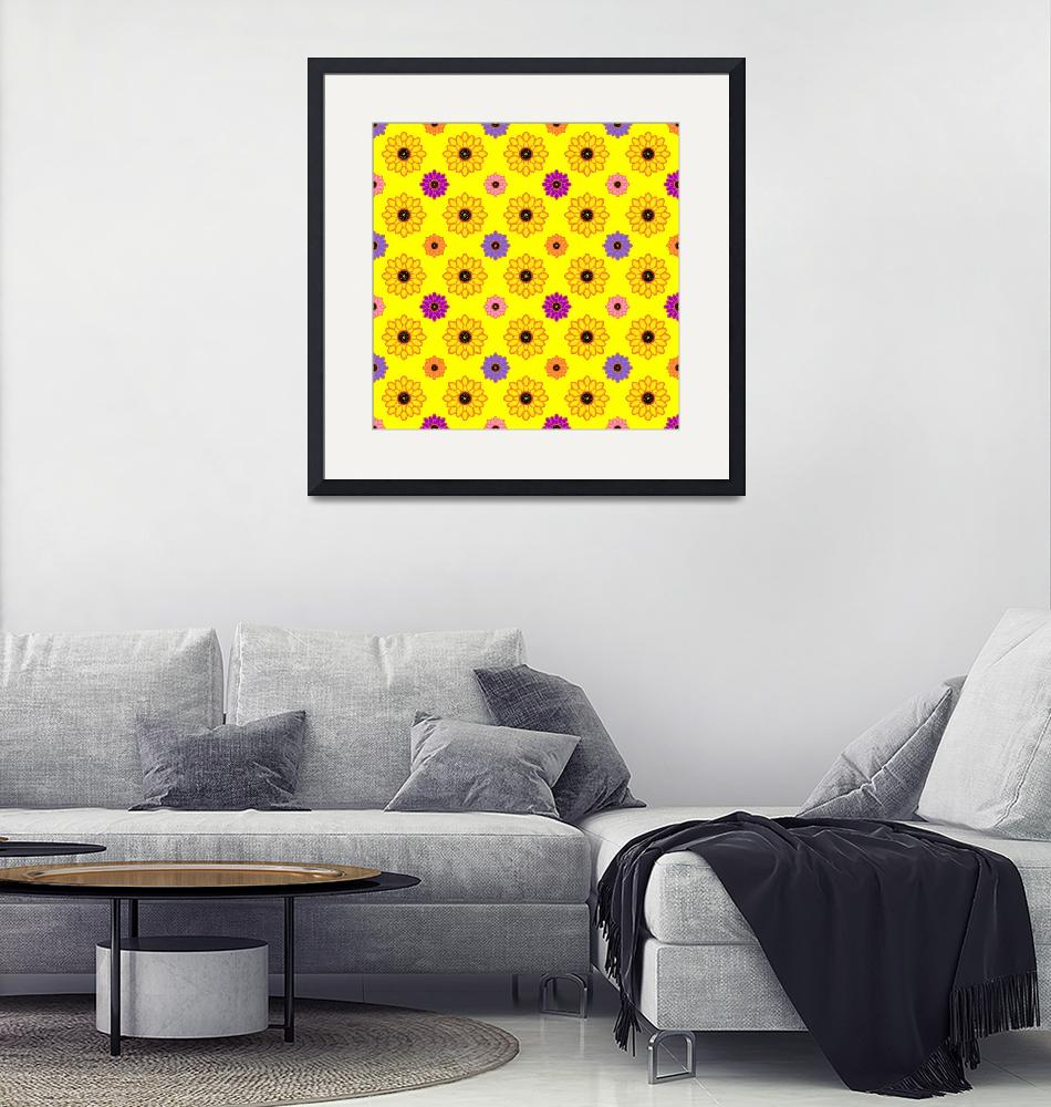 """""""Bright Floral Pattern""""  (2020) by wcsmack"""