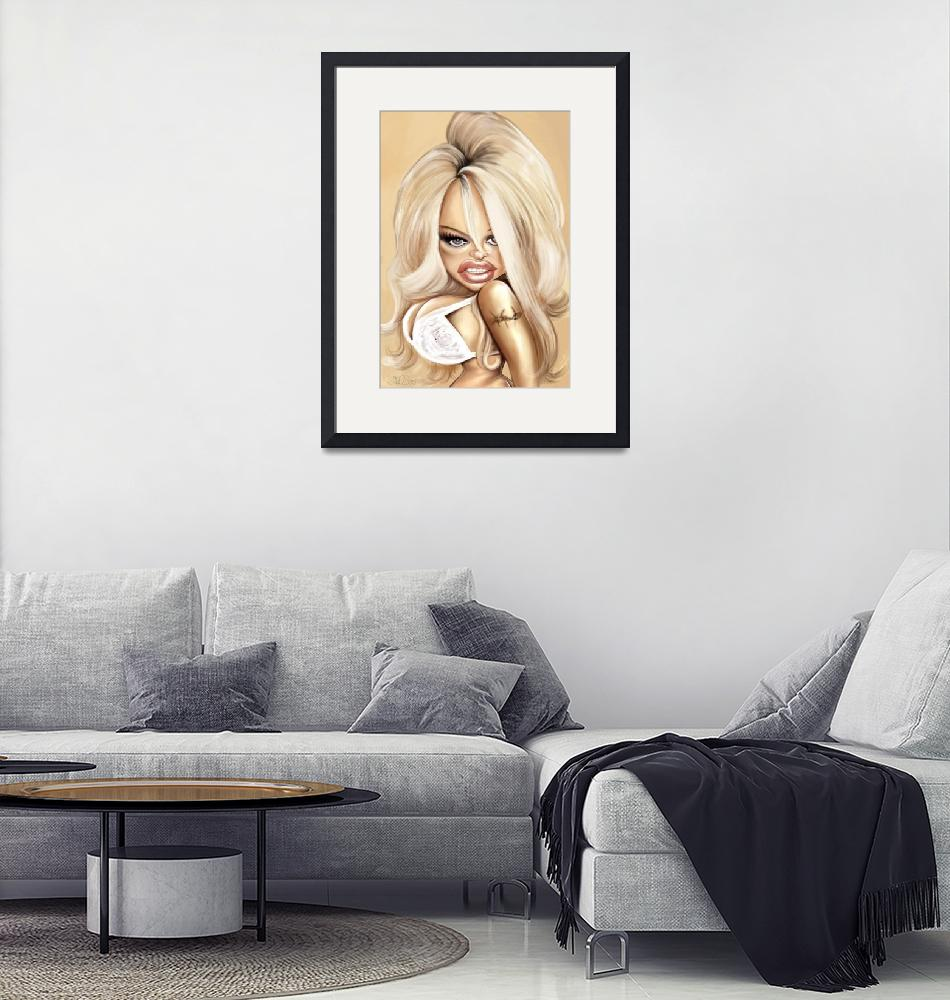 """""""Pamela-Anderson""""  by nelson"""