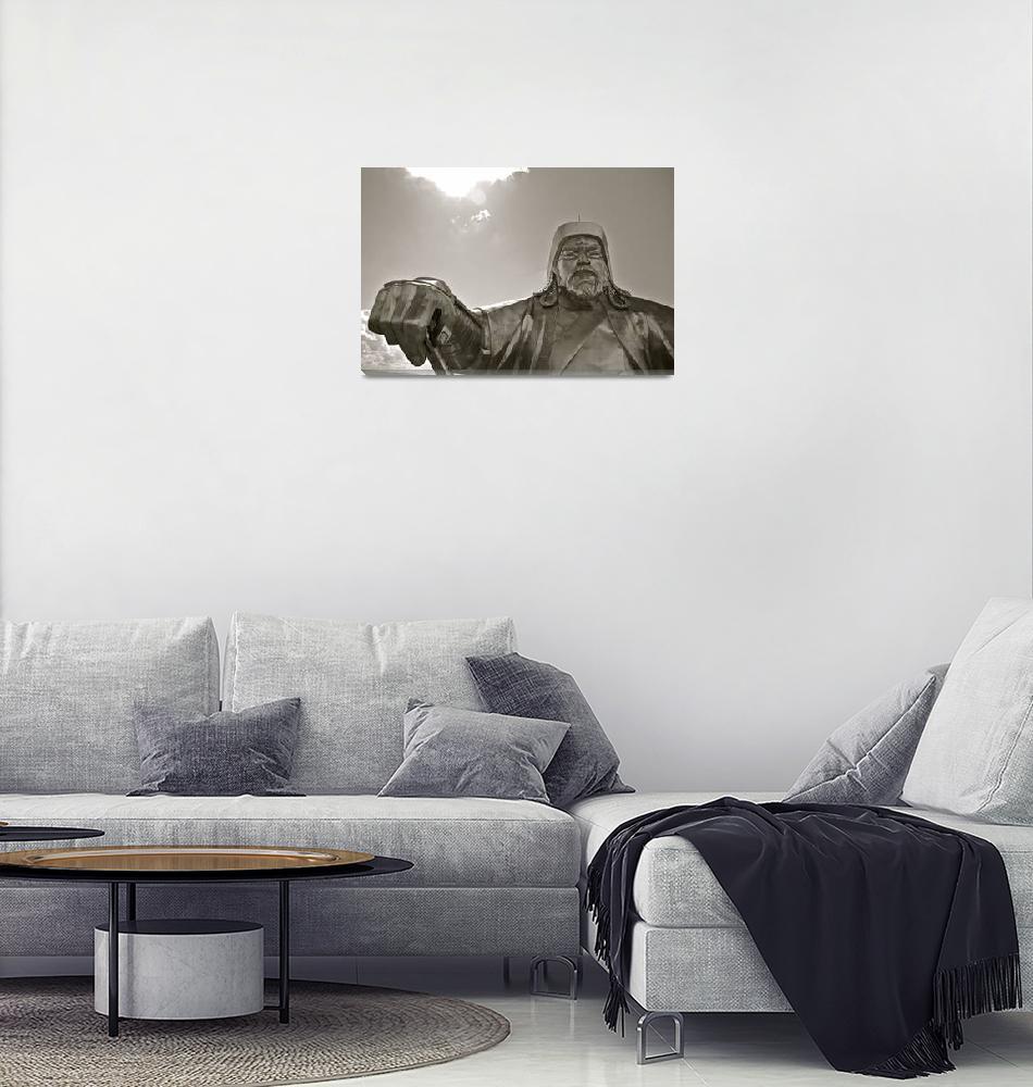 """Giant Chinggis Khan, Mongolia""  by dpsmith7"
