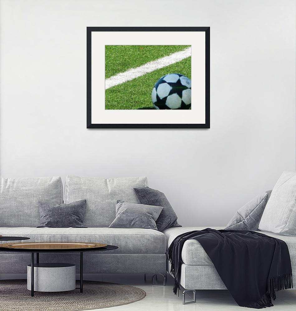 """""""On the Pitch""""  (2009) by Alikat23"""