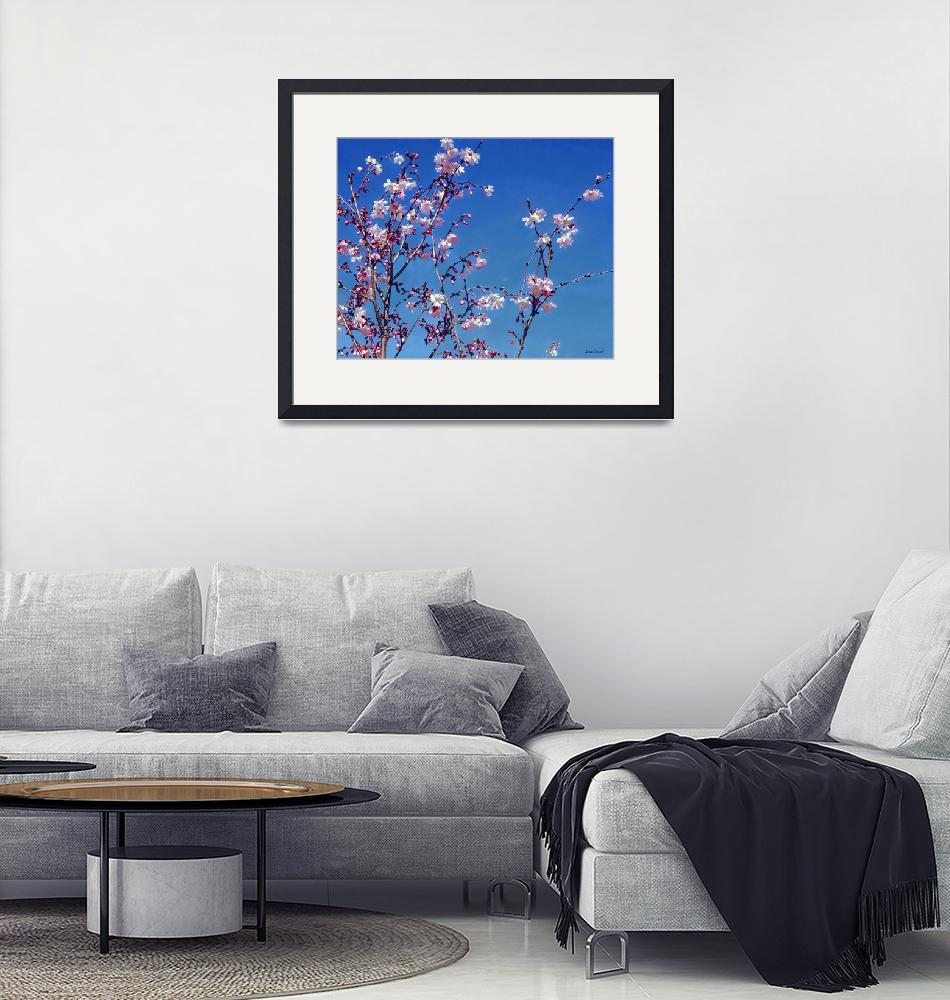 """""""Cherry Blossom Branches""""  by susansartgallery"""