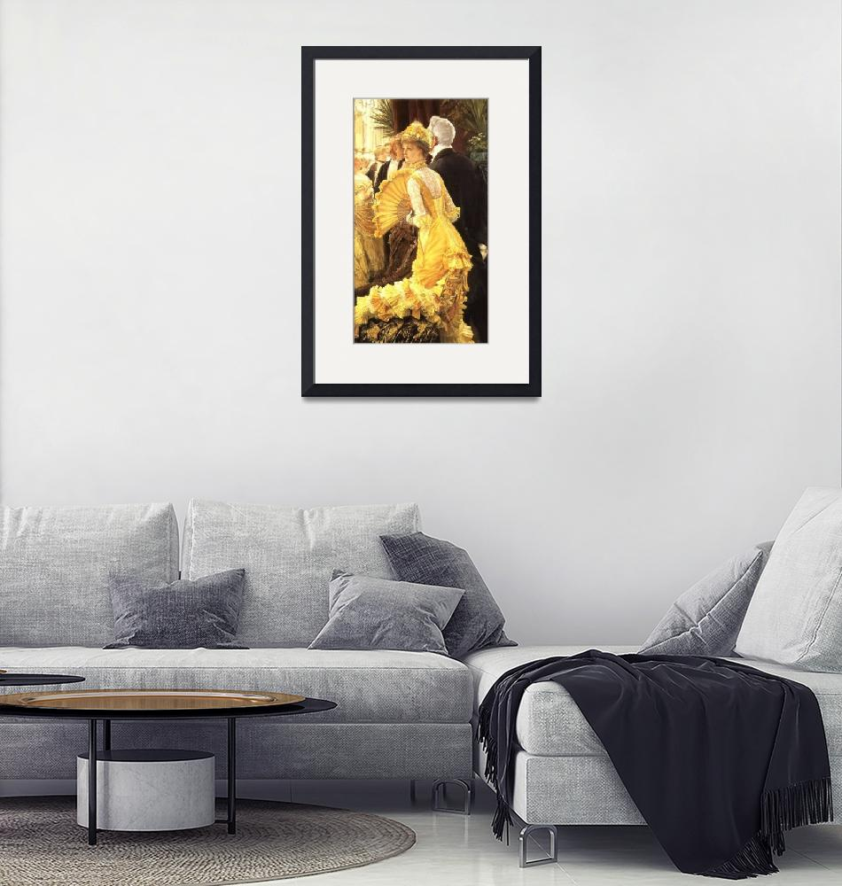"""""""Lady in Yellow""""  by ArtLoversOnline"""