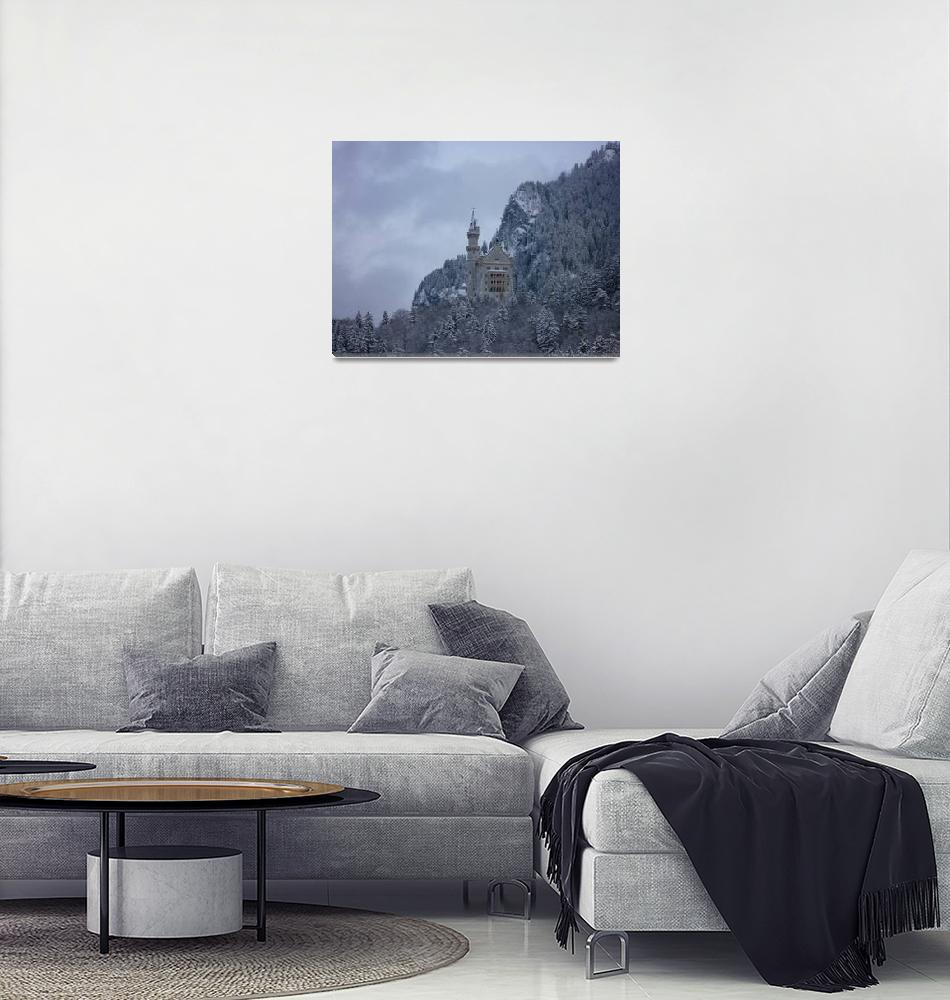 """""""Neuschwanstein Castle""""  (2009) by klewis"""