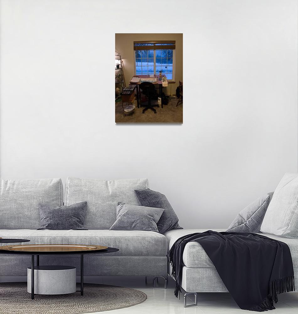 """My Studio""  by inkandbrushcreations"