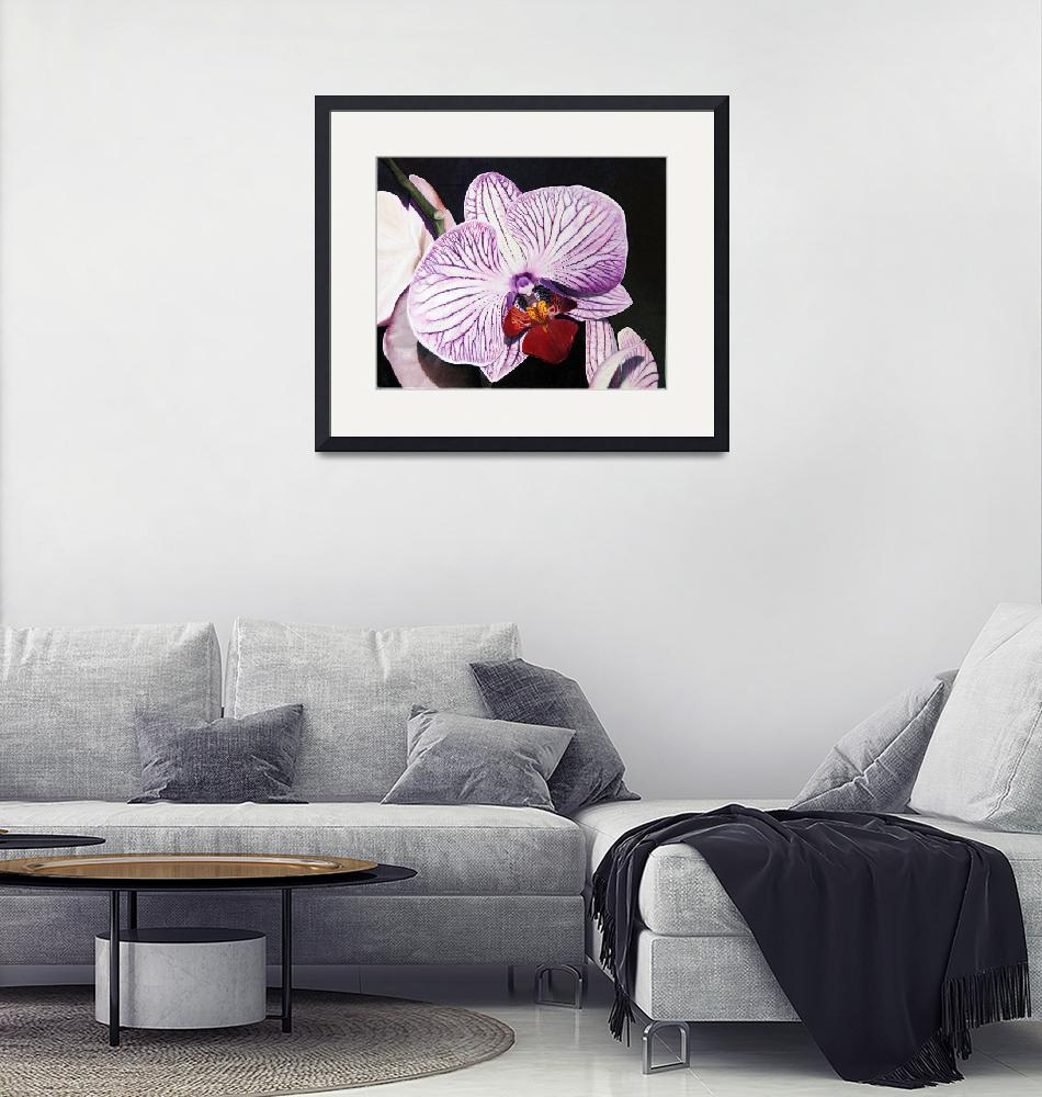 """Purple Orchid""  (2012) by matteopaints"
