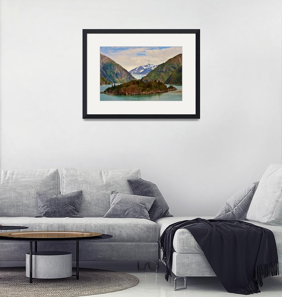 """""""TRACY ARMS FJORD GLACIER""""  (2014) by RE16"""