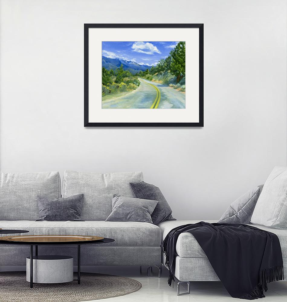 """Road To Kennedy Meadows""  (2008) by KeatingArt"