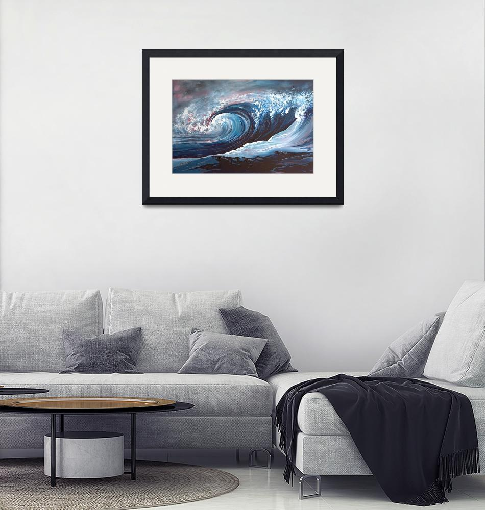 """""""Night Waves""""  by Lesleymanning"""