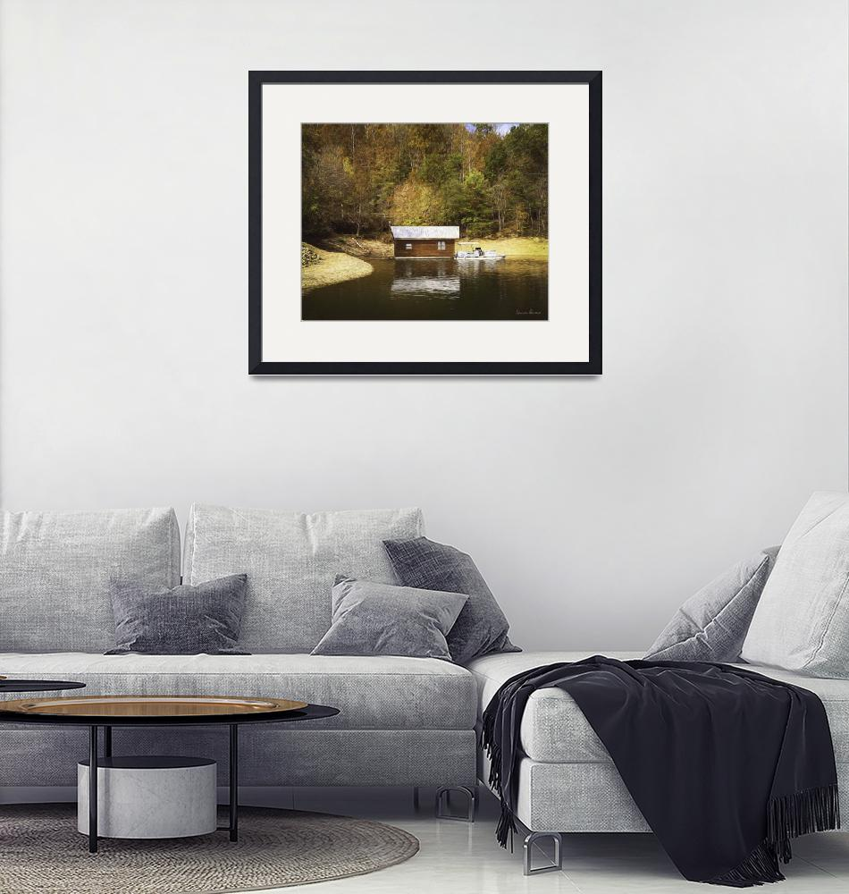 """""""Boathouse""""  (2019) by LouiseReeves"""