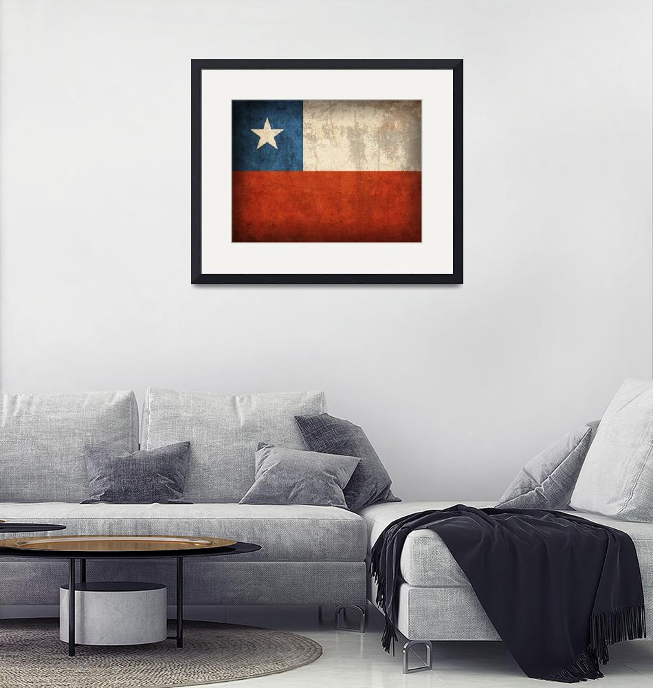 """Chile""  by artlicensing"
