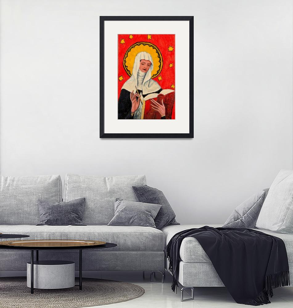 """St. Bridget""  (2011) by InigoHicks"