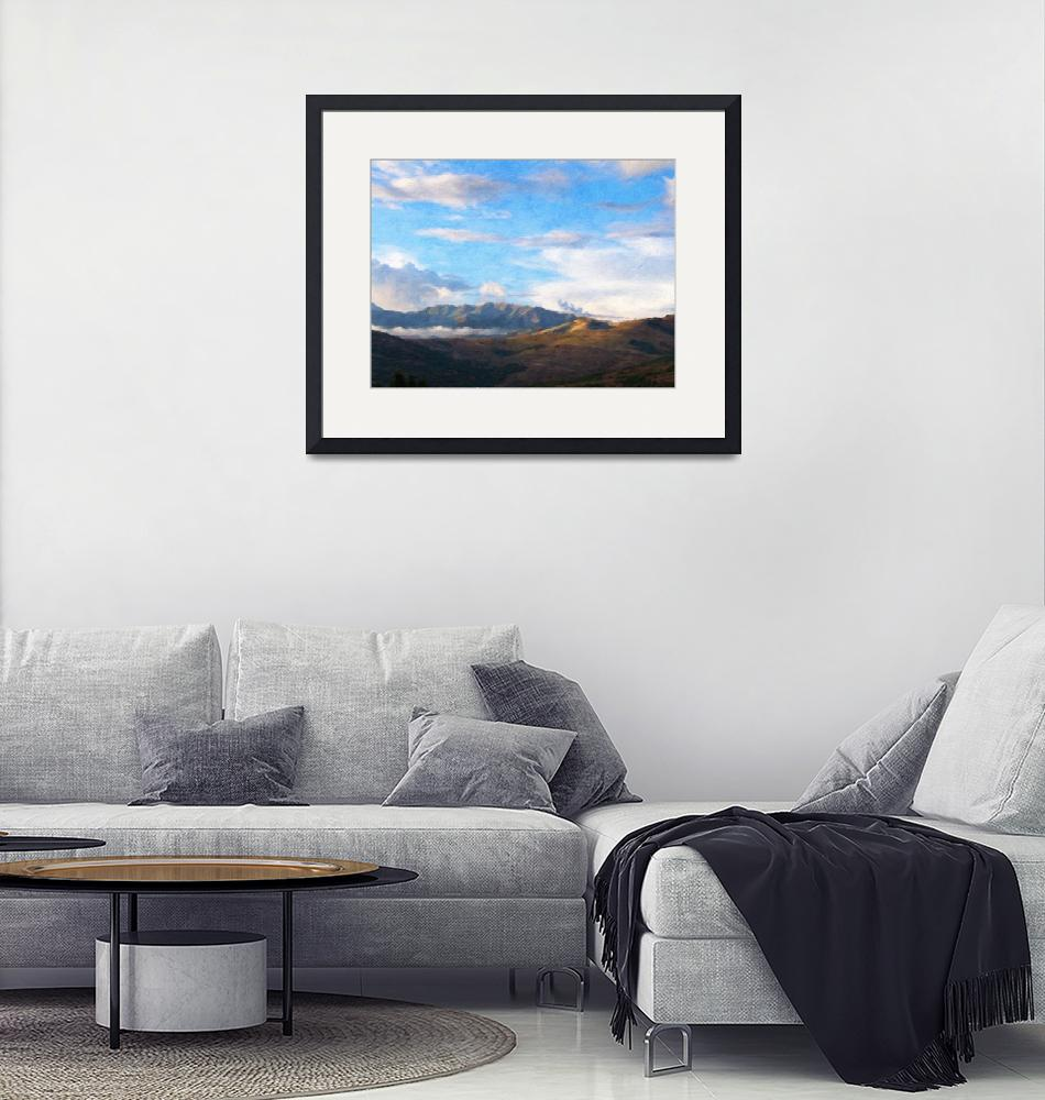"""""""Valley of the Clouds""""  (2015) by LeslieHarlow"""