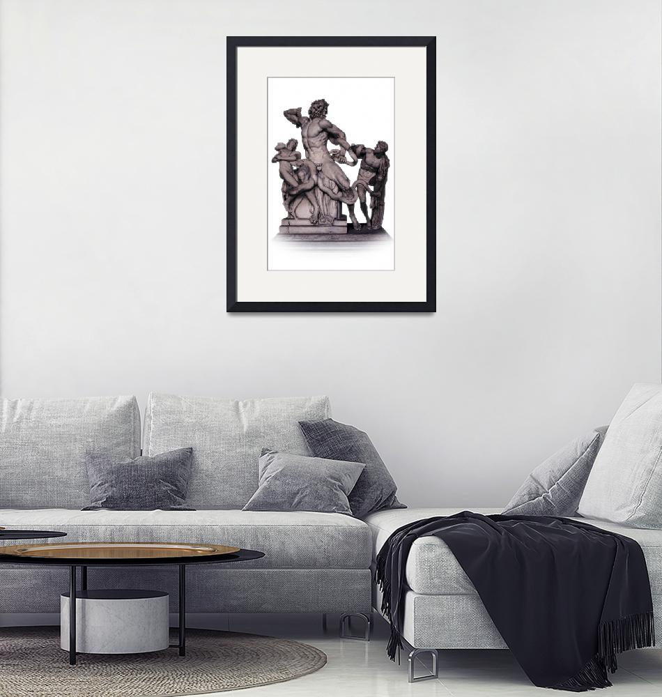 """""""Laocoon Group - Musei Vaticani""""  (2008) by Travelerscout"""