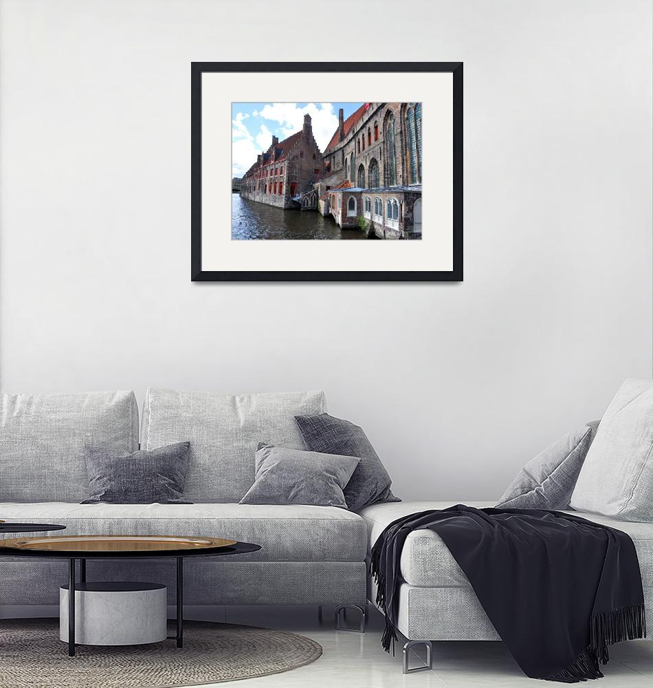"""""""Bruge Canal""""  (2011) by greencricketphoto"""