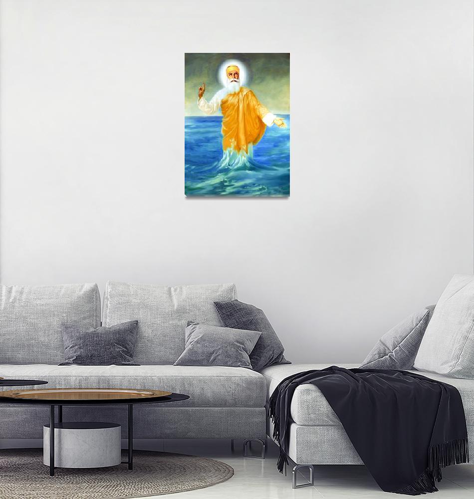 """Guru Nanak""  by SikhPhotos"