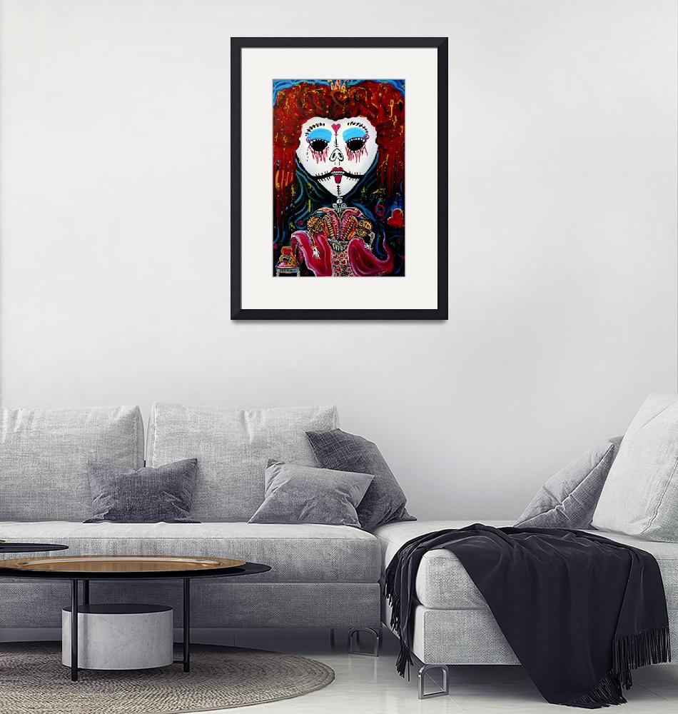"""""""Red Qween"""" (2012) by ArtPrints"""