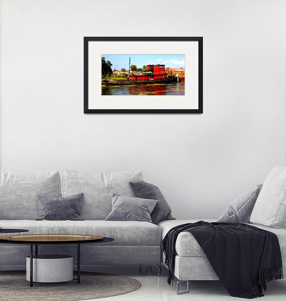 """""""Tugboats""""  (2011) by ralphnelsen"""