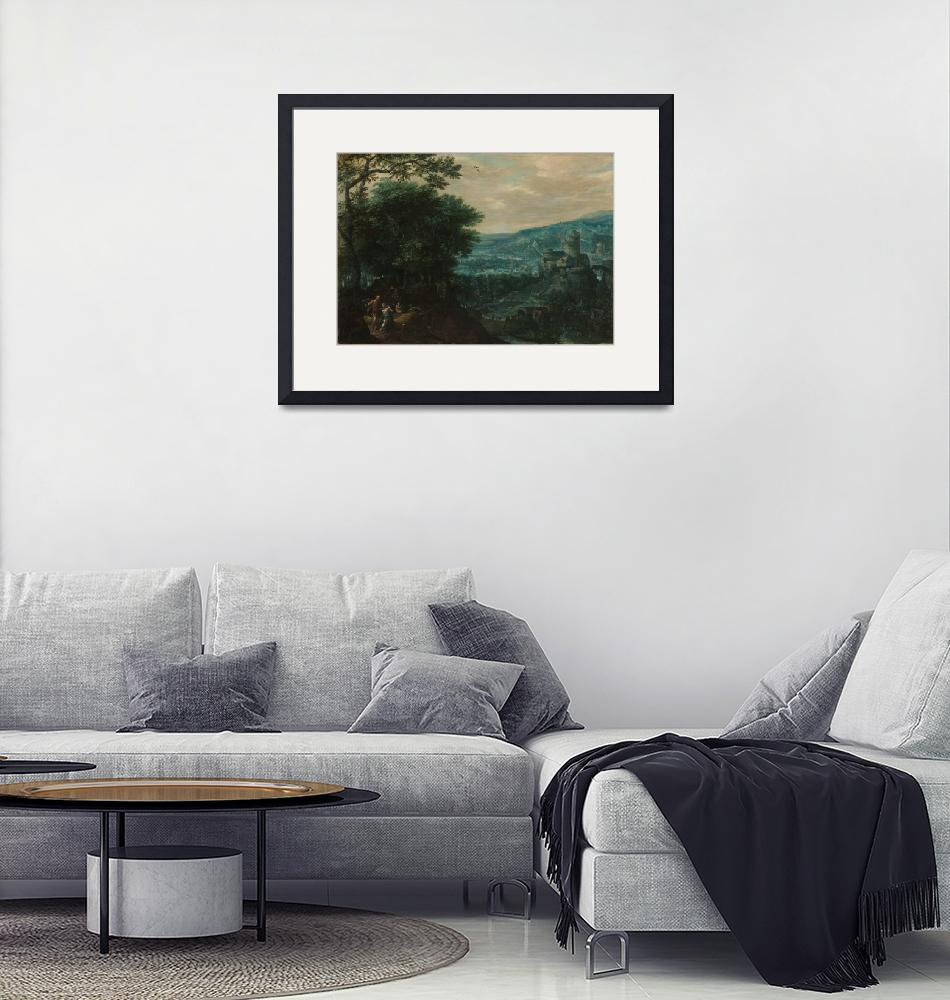"""""""Landscape with Venus and Adonis by Coninxloo""""  by FineArtClassics"""