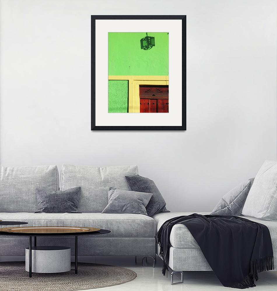 """""""Green Portal""""  (2014) by SharonWagner"""